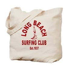 Long Beach Surfing Club Tote Bag