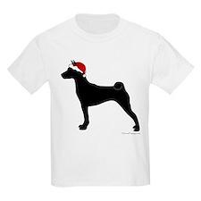 Santa Basenji T-Shirt