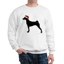 Santa Basenji Sweatshirt
