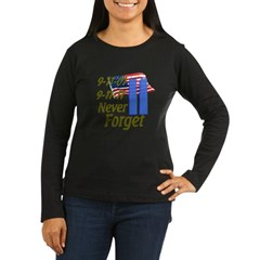 9-11 / Flag / Never Forget T-Shirt