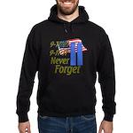 9-11 / Flag / Never Forget Hoodie (dark)