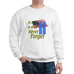 9-11 / Flag / Never Forget Sweatshirt