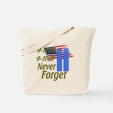 9-11 / Flag / Never Forget Tote Bag