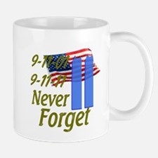 9-11 / Flag / Never Forget Mug