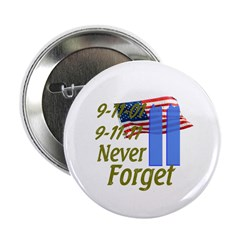 9-11 / Flag / Never Forget 2.25