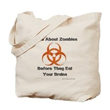 Write About Zombies Tote Bag