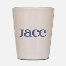 Jace Blue Glass Shot Glass