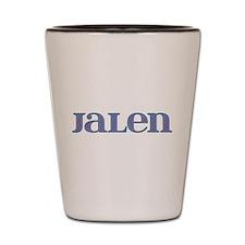 Jalen Blue Glass Shot Glass