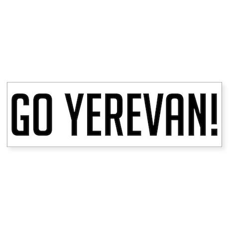 Go Yerevan! Bumper Sticker