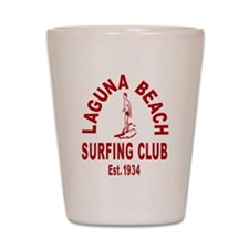 Laguna Beach Surfing Club Shot Glass