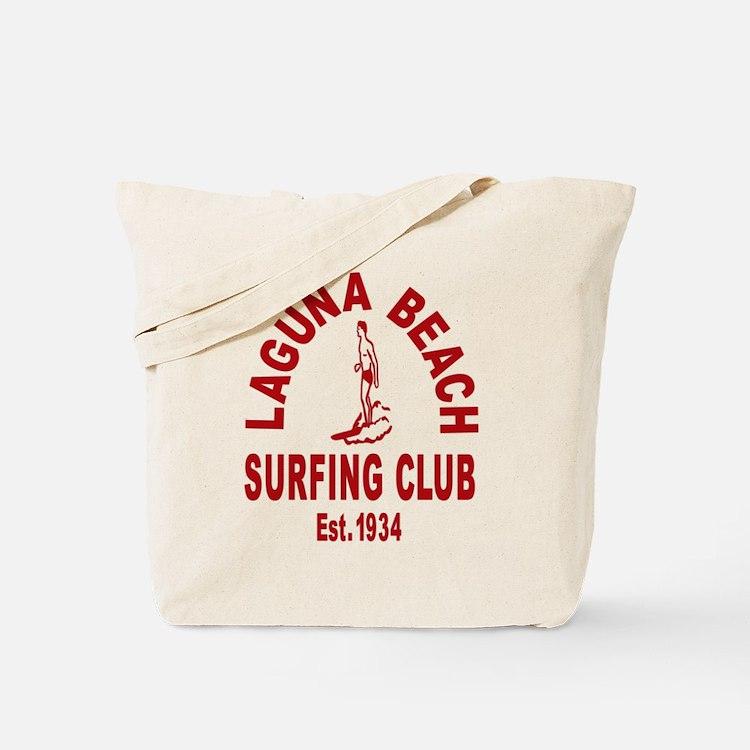 Laguna Beach Surfing Club Tote Bag
