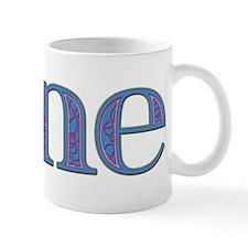 Jane Blue Glass Mug
