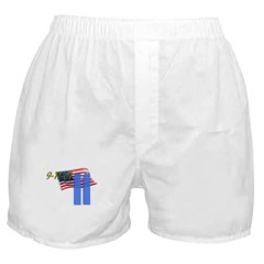 9-11 with Flag, Buildings Boxer Shorts