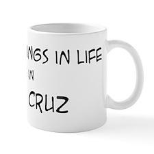 Best Things in Life: Santa Cr Mug