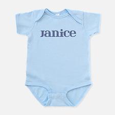 Janice Blue Glass Infant Bodysuit