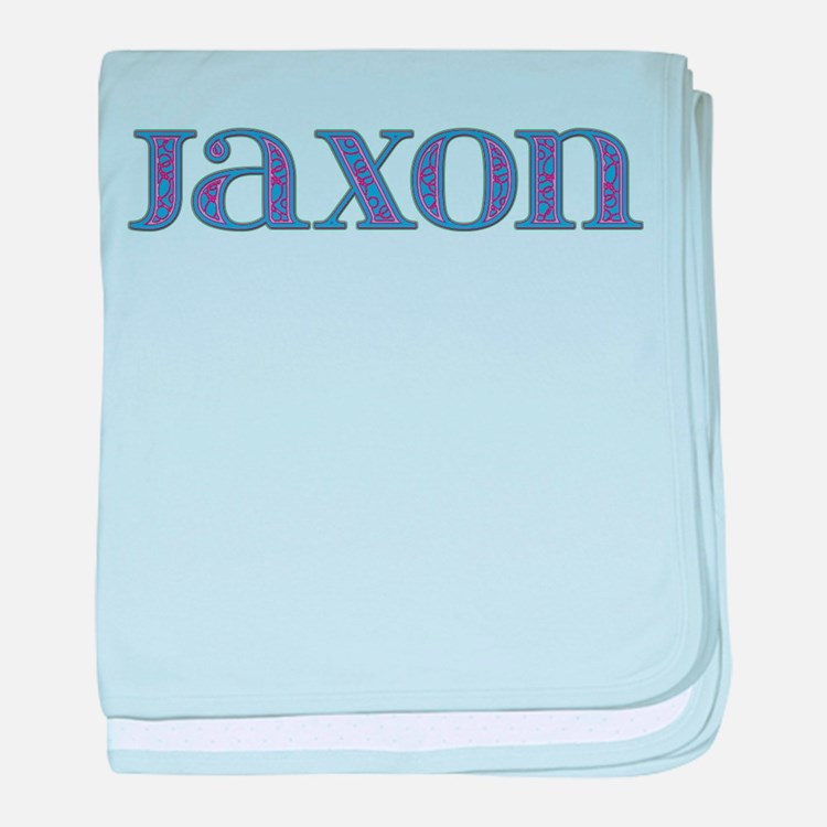 Jaxon Blue Glass baby blanket