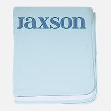 Jaxson Blue Glass baby blanket