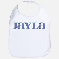 Jayla Blue Glass Bib