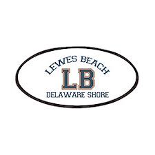 Lewes Beach DE - Varsity Design. Patches