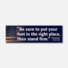 Abraham Lincoln Quote Car Magnet 10 x 3