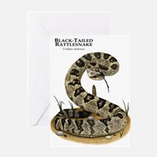 Black-Tailed Rattlesnake Greeting Card