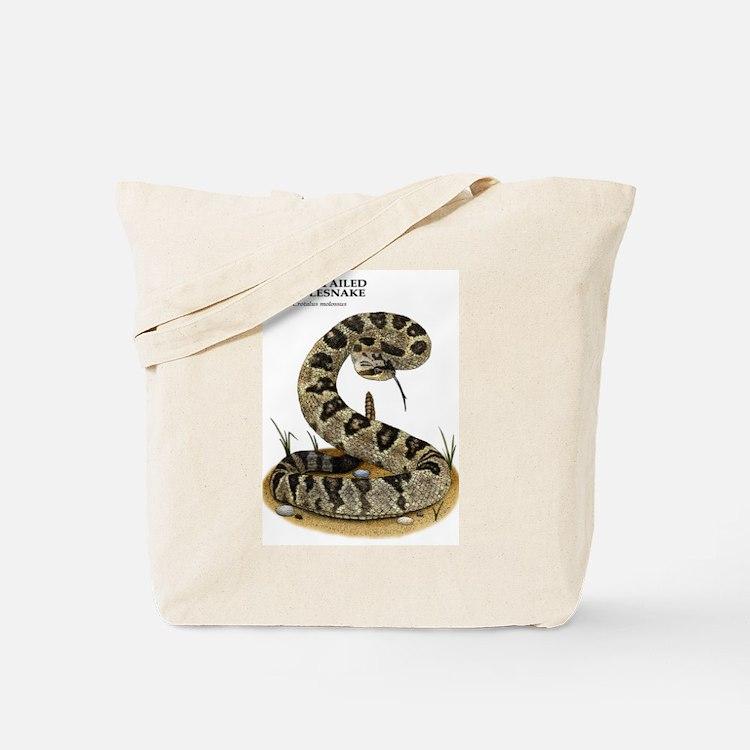 Black-Tailed Rattlesnake Tote Bag
