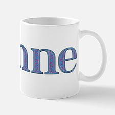 Joanne Blue Glass Mug