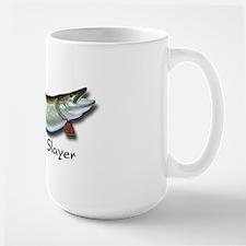 Large Muskie Slayer Coffee Mug