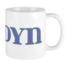 Jordyn Blue Glass Mug