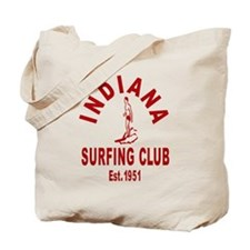 Indiana Surfing Club Tote Bag