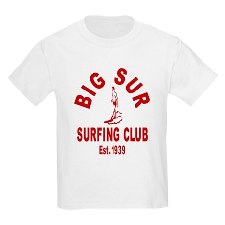 Vintage Big Sur Surfing Club Kids Light T-Shirt
