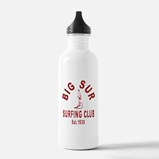 Vintage Big Sur Surfing Club Water Bottle