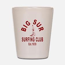 Vintage Big Sur Surfing Club Shot Glass