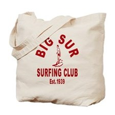 Vintage Big Sur Surfing Club Tote Bag