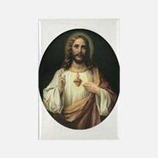 Sacred Heart of Jesus Rectangle Magnet