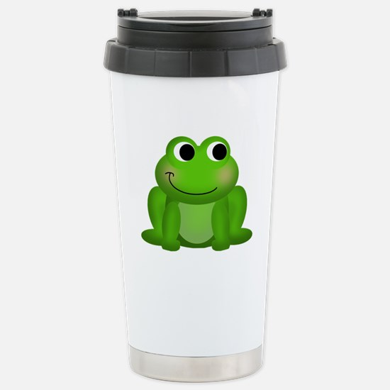 Cute Froggy Stainless Steel Travel Mug