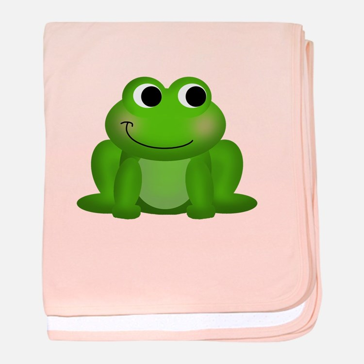 Cute Froggy Baby Blanket