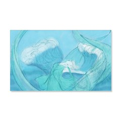 Water Sprite 20x12 Wall Decal