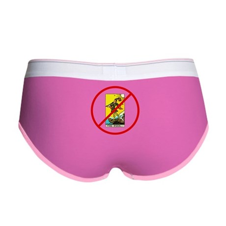 No Fools! Women's Boy Brief