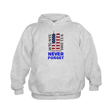 Never Forget 9/11 Kids Hoodie