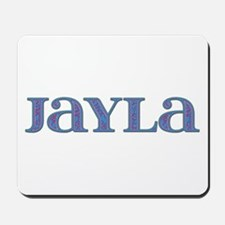 Jayla Blue Glass Mousepad