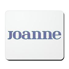 Joanne Blue Glass Mousepad