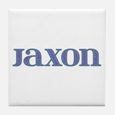 Jaxon Blue Glass Tile Coaster