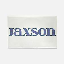Jaxson Blue Glass Rectangle Magnet
