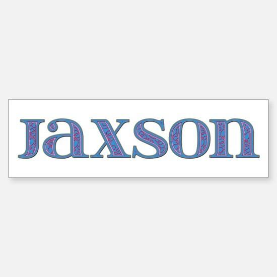 Jaxson Blue Glass Bumper Bumper Bumper Sticker
