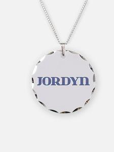 Jordyn Blue Glass Necklace