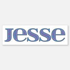 Jesse Blue Glass Bumper Bumper Bumper Sticker