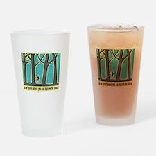 John Muir Quote Drinking Glass