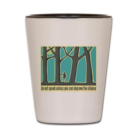 John Muir Quote Shot Glass