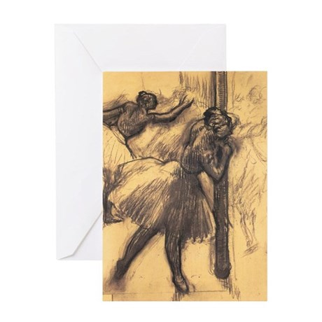Edgar Degas Greeting Card